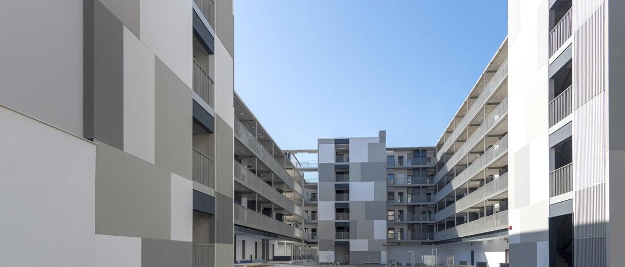 Ejemplo de vivienda industrializada del Grupo Avintia.