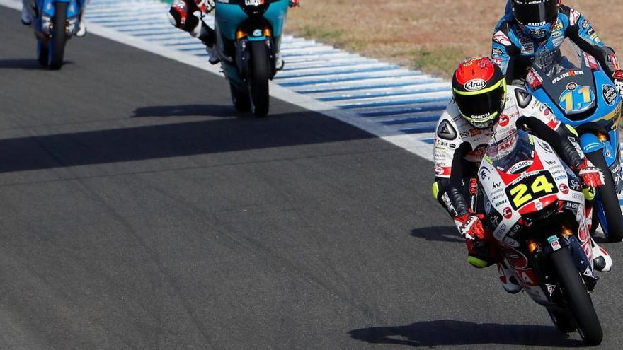 Segunda 'pole' consecutiva para Tatsuki Suzuki en Moto3