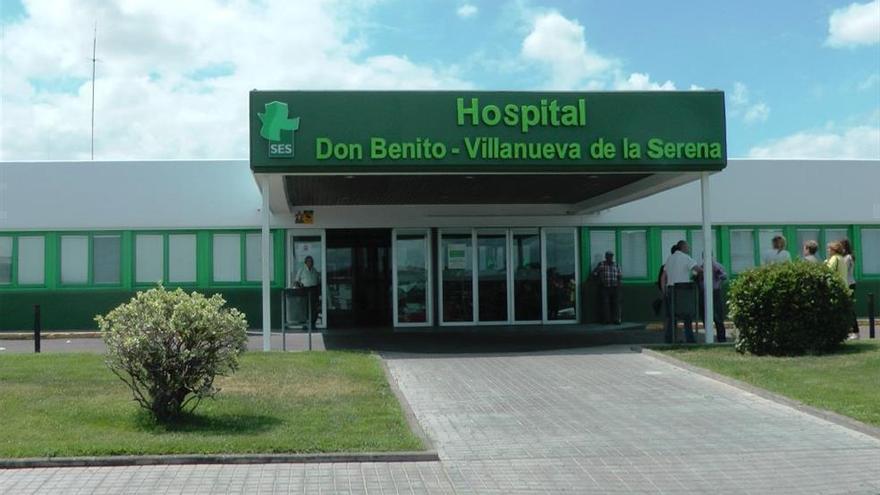 Cuatro personas heridas en una salida de vía cerca de Valle de la Serena