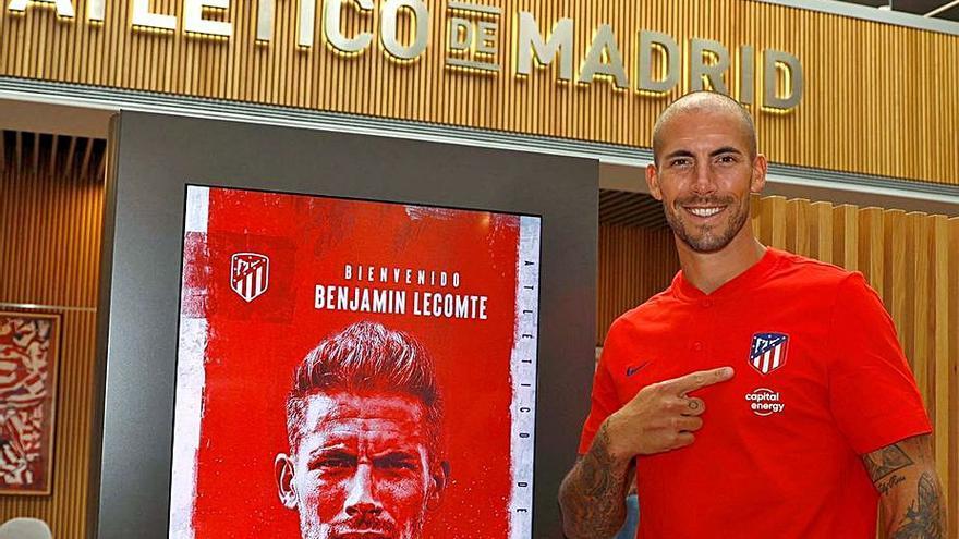El Atlético contrata al meta Benjamin Lecomte