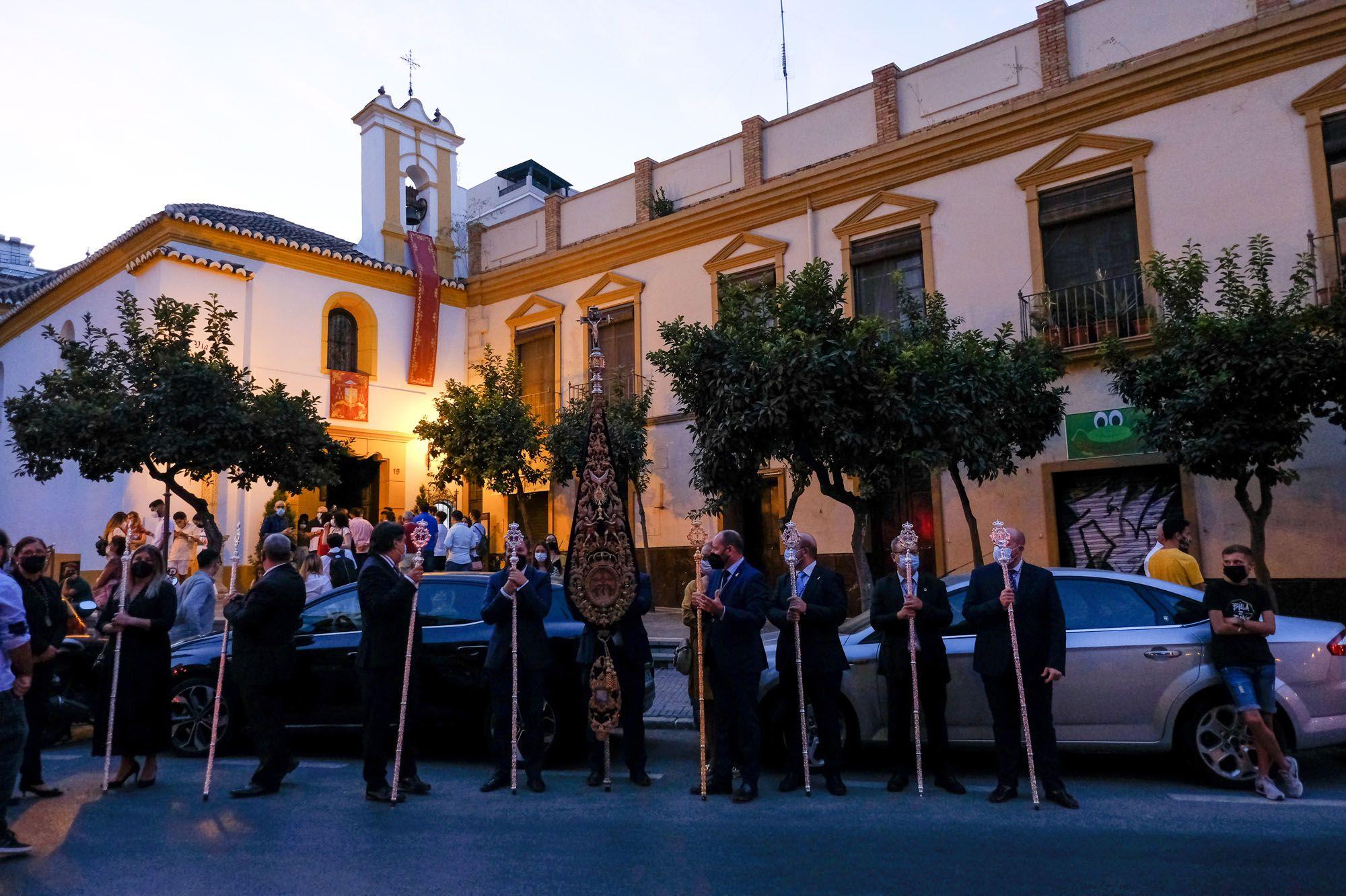 Traslado de la Virgen de la Victoria desde la Catedral de Málaga