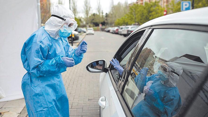 Los centros de salud registran más de 820 casos activos de COVID en la provincia de Zamora