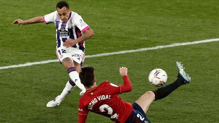 La nula efectividad condena al empate a Osasuna y Valladolid