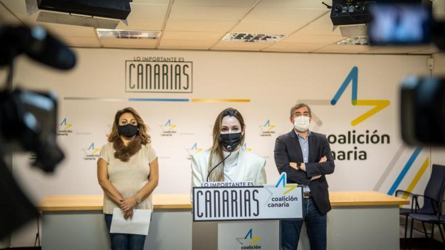 CC presenta Documento de Rescate Social de Canarias
