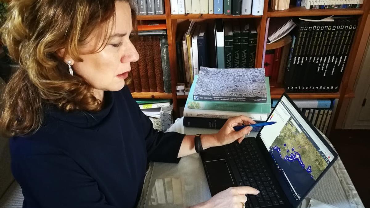 La profesora investigadora, María Jesús Perles.