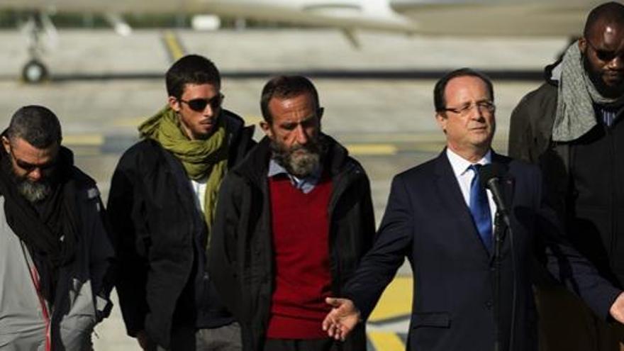 Francia niega el pago de rescate por el secuestro de Níger