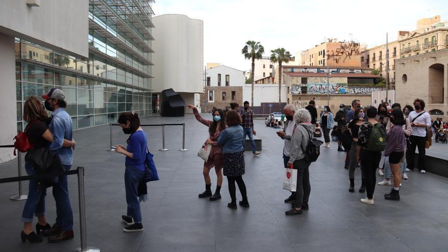 La Nit dels Museus atreu més 34.000 persones a Barcelona tot i l'horari reduït i els aforaments limitats