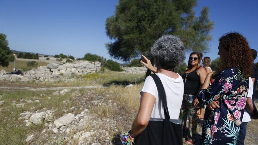 El yacimiento de Son Fornés, un referente para el turismo cultural