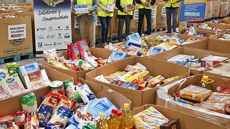 SPAR reúne más de 50.000 kilos de comida para el Banco de Alimentos