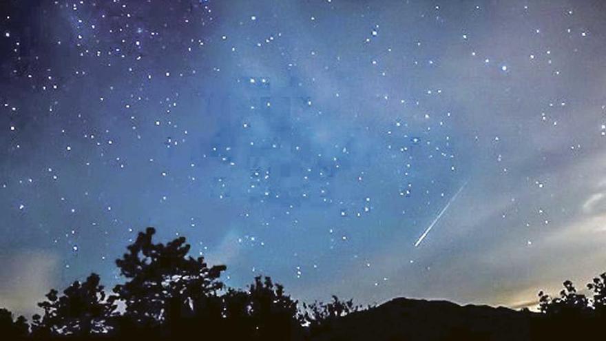 Noche mágica en Cíes y Forcarei para ver las Perseidas