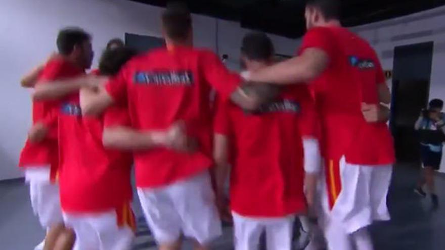 'Callaíta', la canción con la que se motiva la selección antes de los partidos