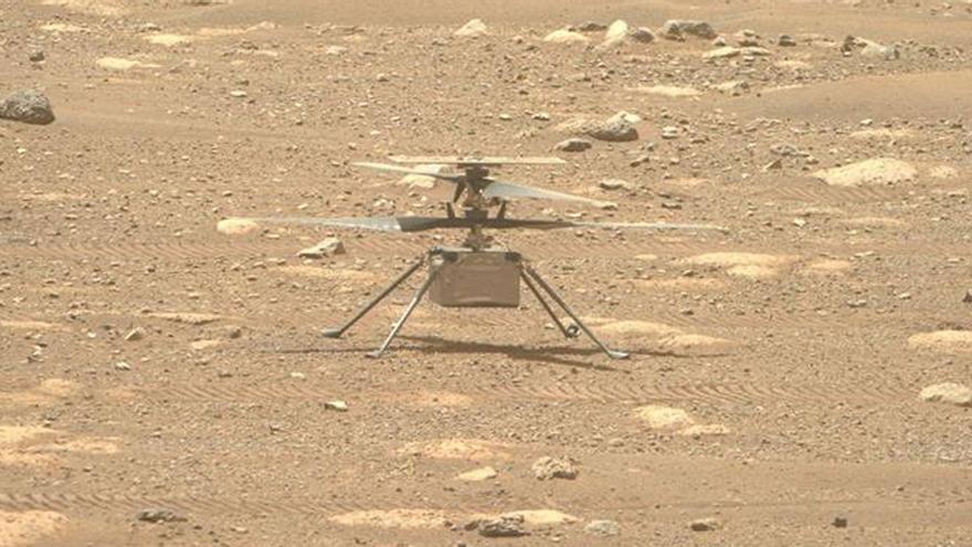La NASA retrasa el vuelo de Ingenuity sobre Marte
