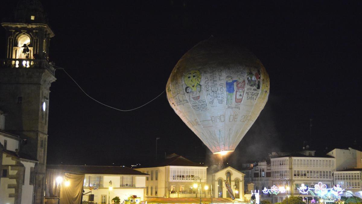 Betanzos anuncia la suspensión del lanzamiento del globo de Betanzos tras descartar varias alternativas