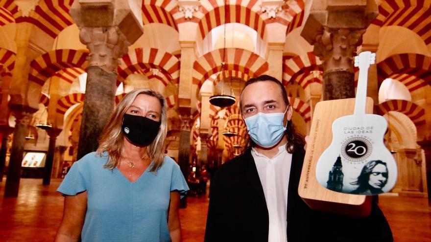 Córdoba conmemora el 20 aniversario del álbum 'Ciudad de las ideas' de Vicente Amigo