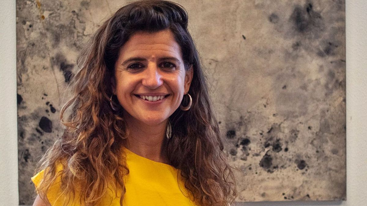 La alcaldesa de Esporles, Maria Ramon.   DM
