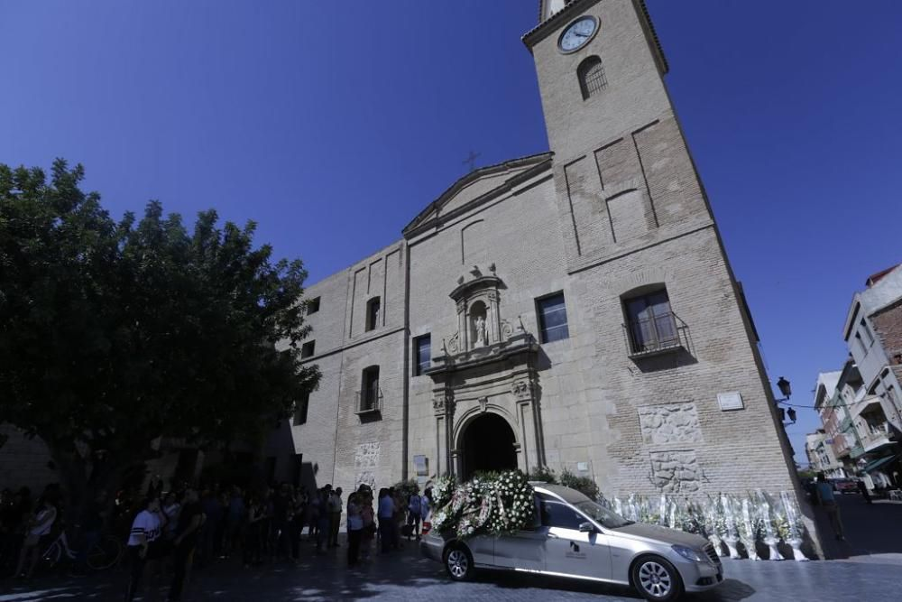 Funeral del niño asesinado por su padre en Beniel