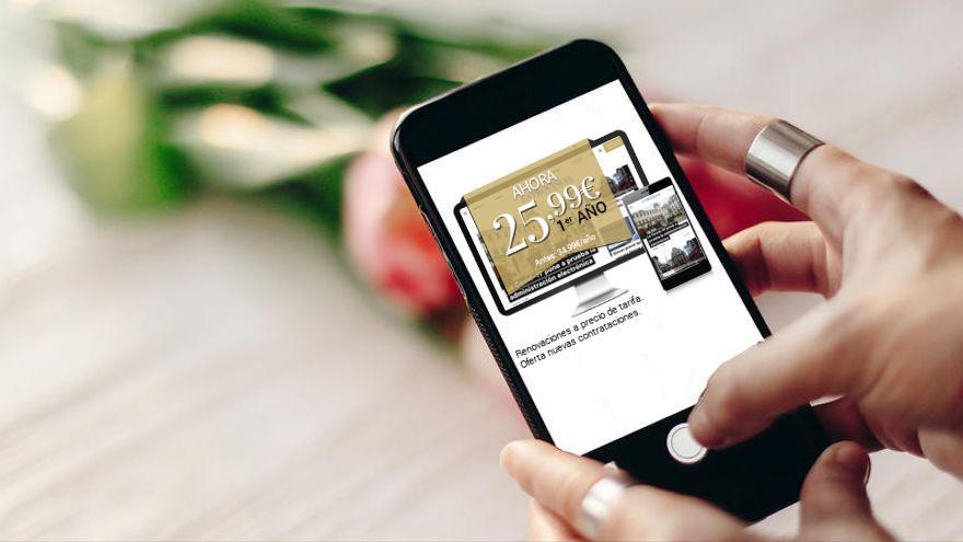 Oferta: Hazte ahora suscriptor digital de La Provincia por un año y disfruta de tres meses gratis