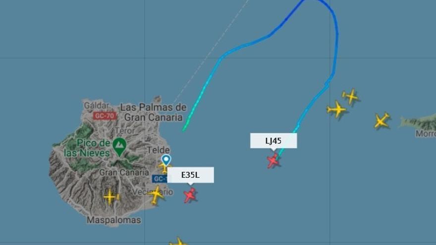 Dos aviones ejecutivos aterrizan de emergencia en Gran Canaria y Tenerife