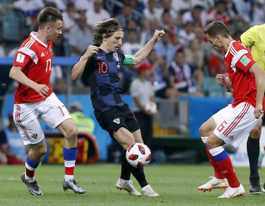 Mundial de Rusia: Rusia-Croacia