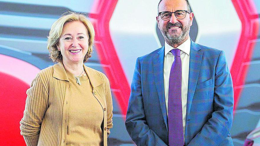 """Susana López y Juan José Juan: """"Renault y Dacia están bien posicionadas para este año"""""""