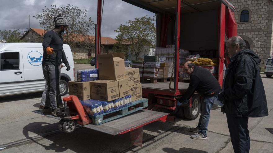 Más ayudas para el Banco de Alimentos de Zamora en la era del COVID