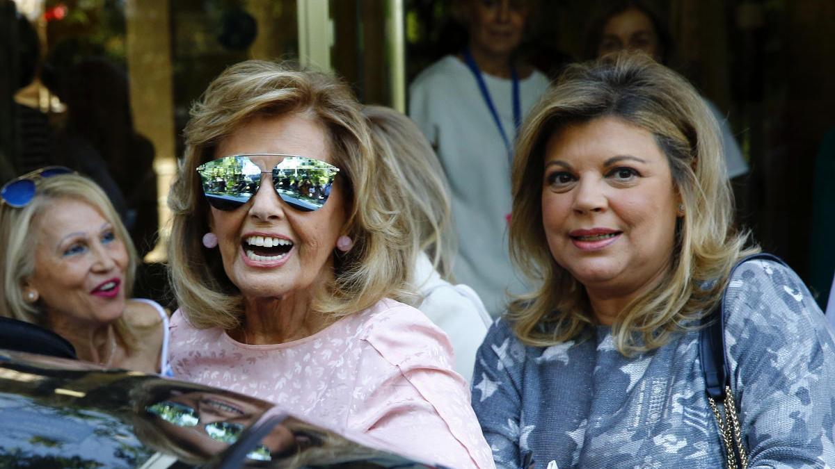 Terelu Campos con su madre, María Teresa
