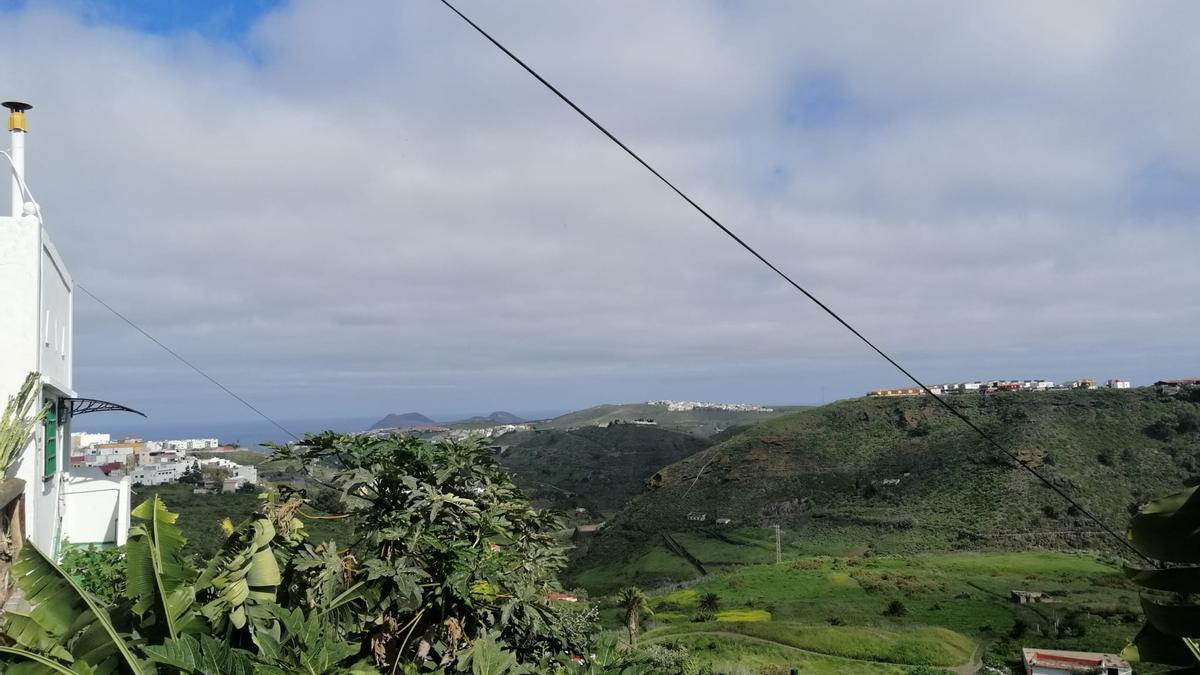 Cielos parcialmente cubiertos este sábado en el norte de Gran Canaria
