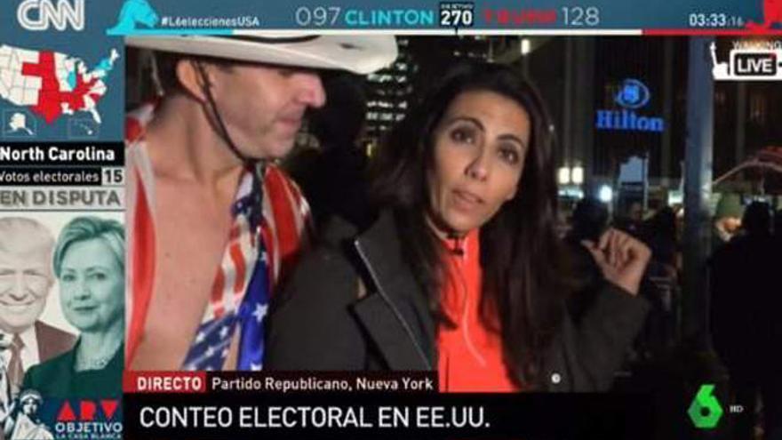 El momento tenso de Ana Pastor en EEUU