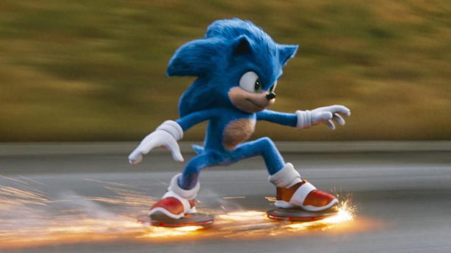 El erizo azul de Sega salta a la gran pantalla