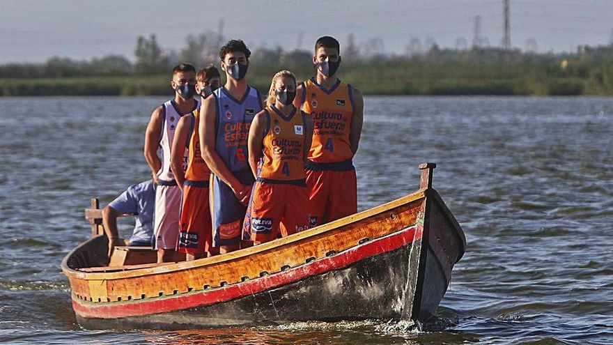 «L'Albufera per sempre» en la nueva piel del Valencia Basket