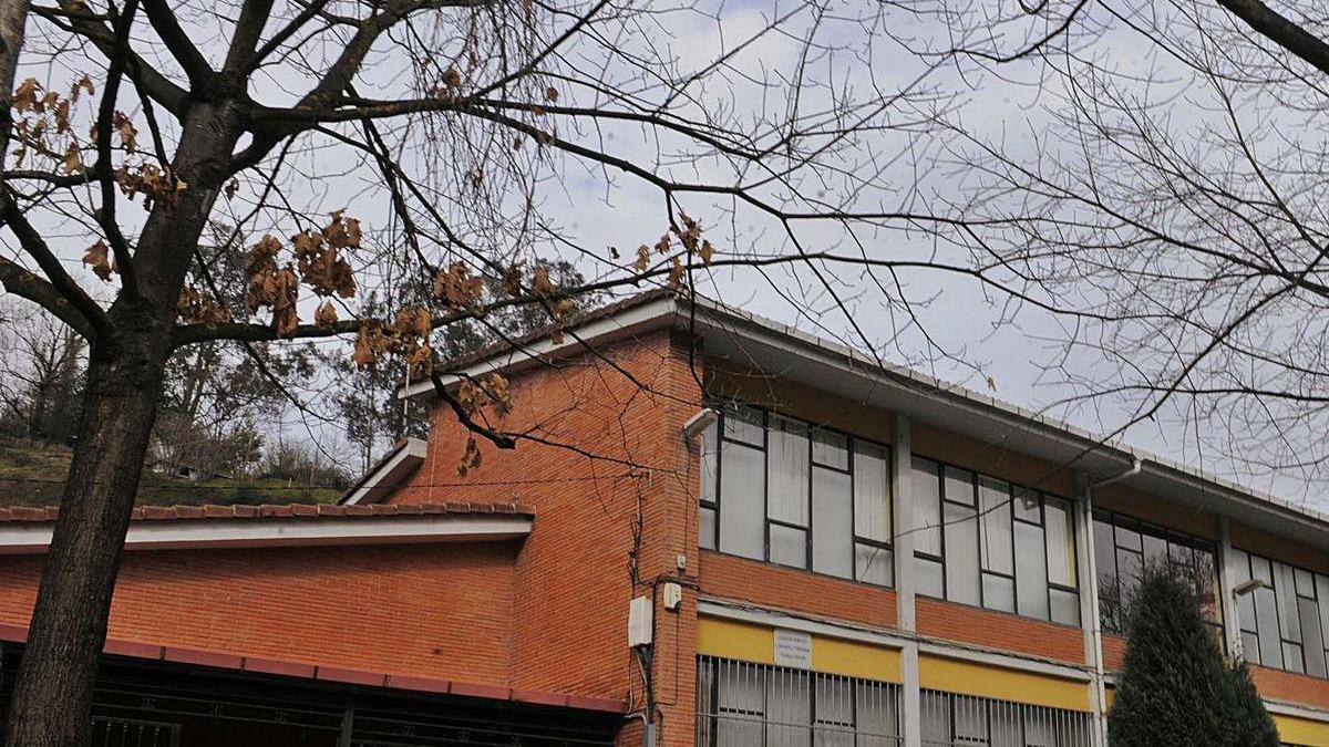 El colegio público de Tudela Veguín.