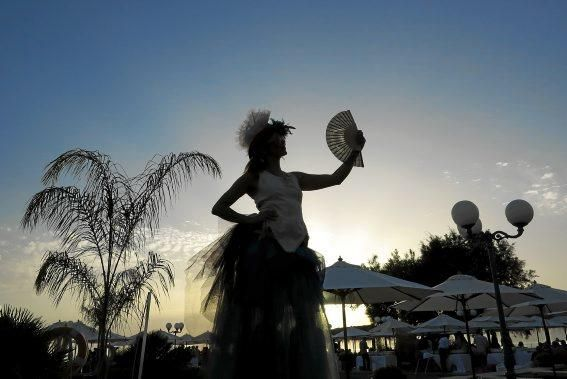 Traumhaftes Ambiente: die MZ-Sommerparty im Mhares Beach Club.