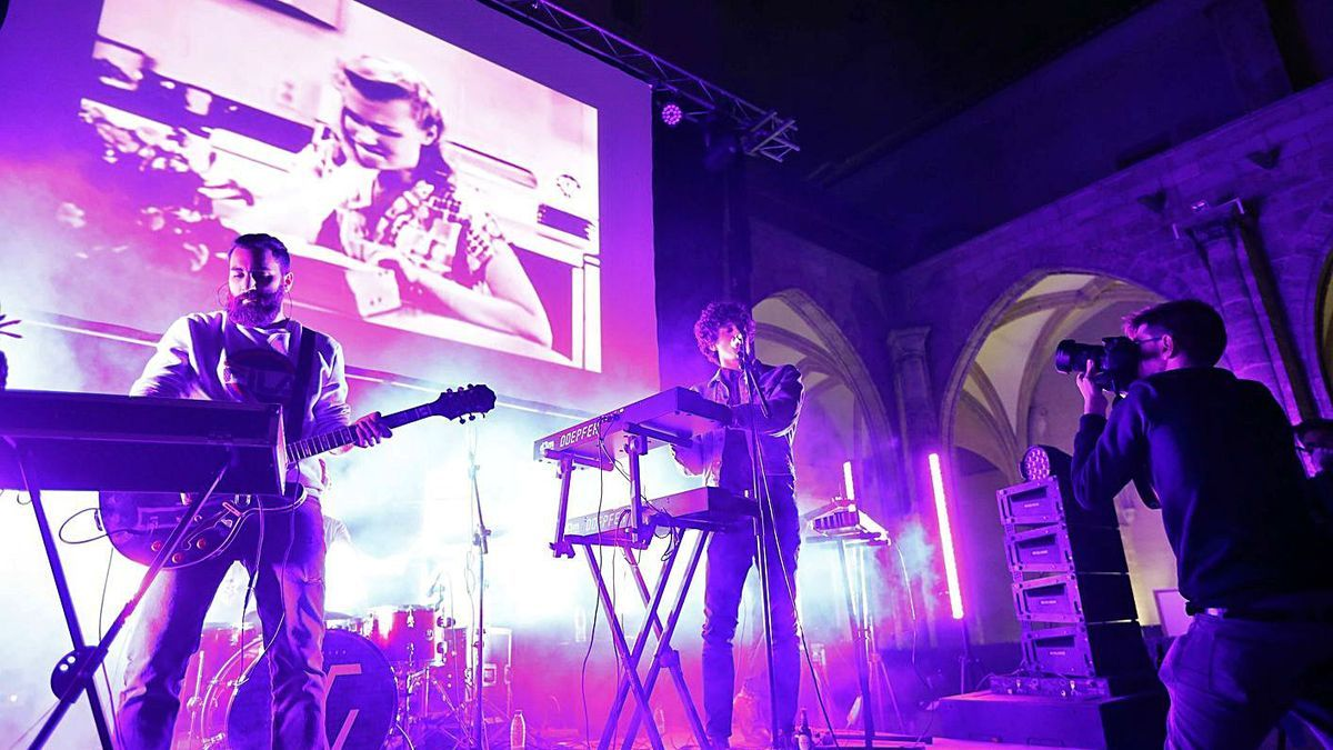 Un concert a la seu del Consorci de Museus al 2017. | M.A.MONTESINOS