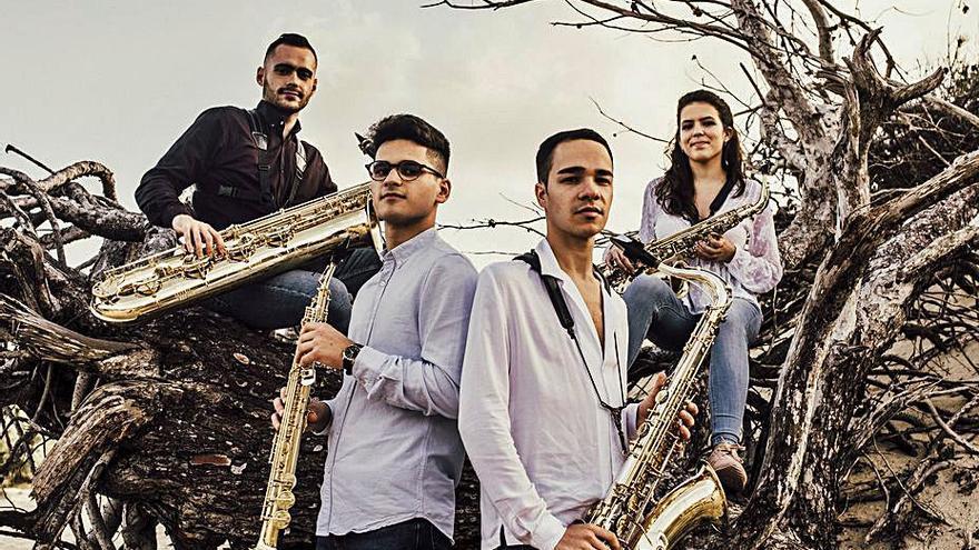 El saxofonista baionés Jaime Estévez gana un premio nacional de música de cámara