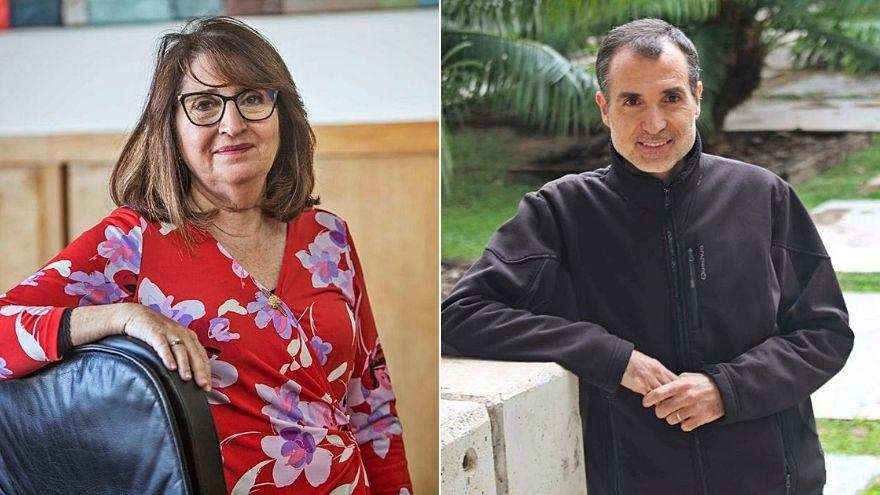 El investigador Maestre Gil y la rectora de la UA analizan la relación entre universidad y ciencia