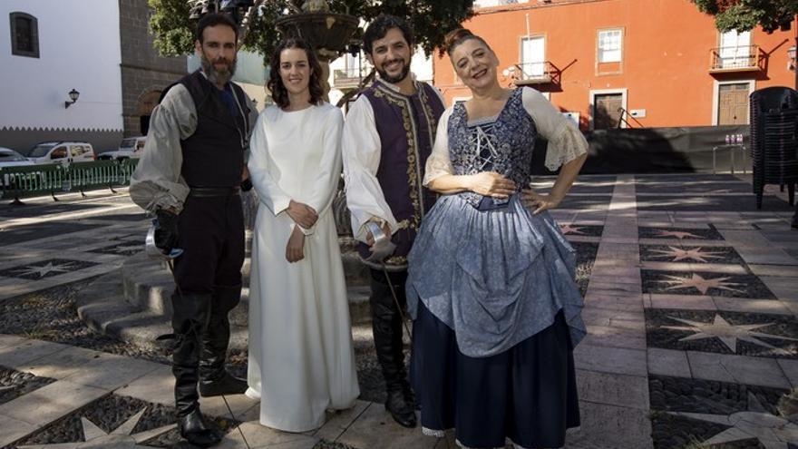 Cerca de cuatro mil personas disfrutarán de «Don Juan Tenorio en Vegueta»