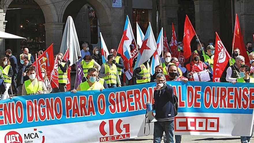 """Sindicatos del siderometal exigen un convenio digno: """"La patronal rompió con las negociaciones"""""""