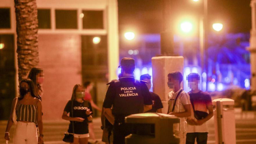El toque de queda afecta ya a la mitad de valencianos