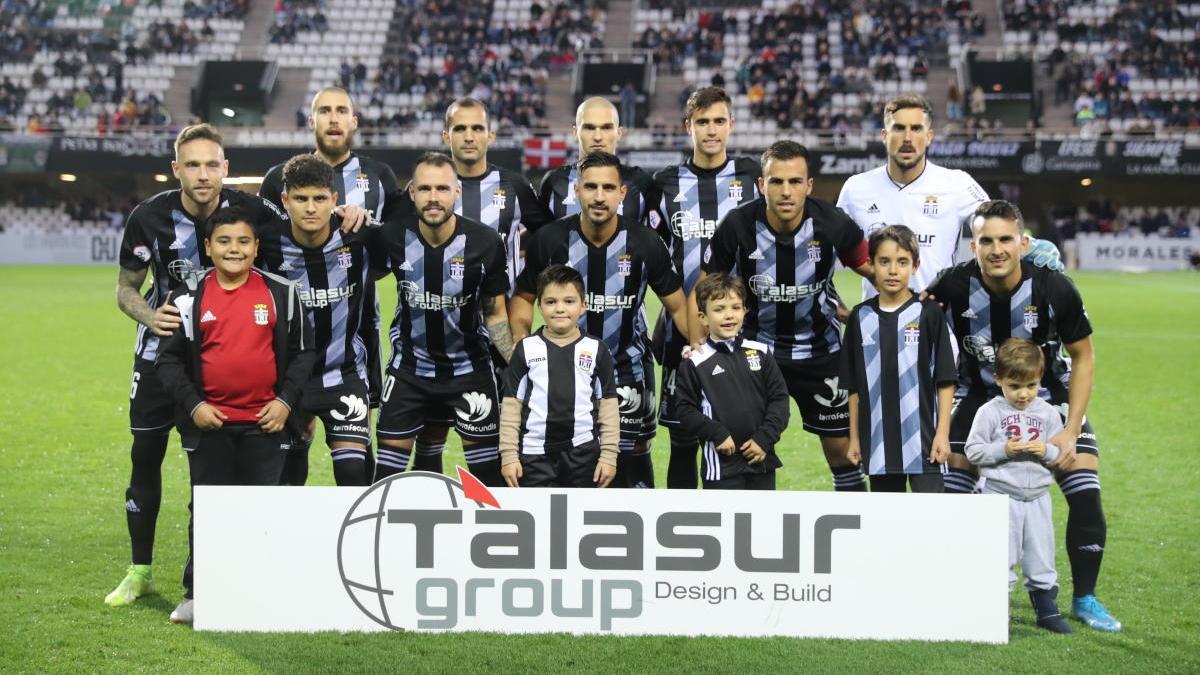 Once inicial que presentó el FC Cartagena frente al UCAM Murcia.
