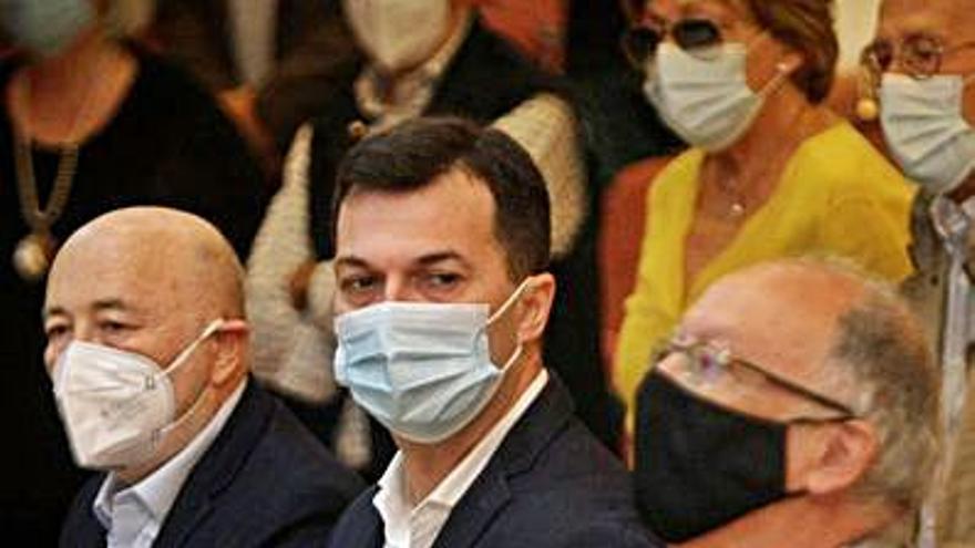 Caballero pide al PSdeG unidad para defender a las víctimas de la crisis