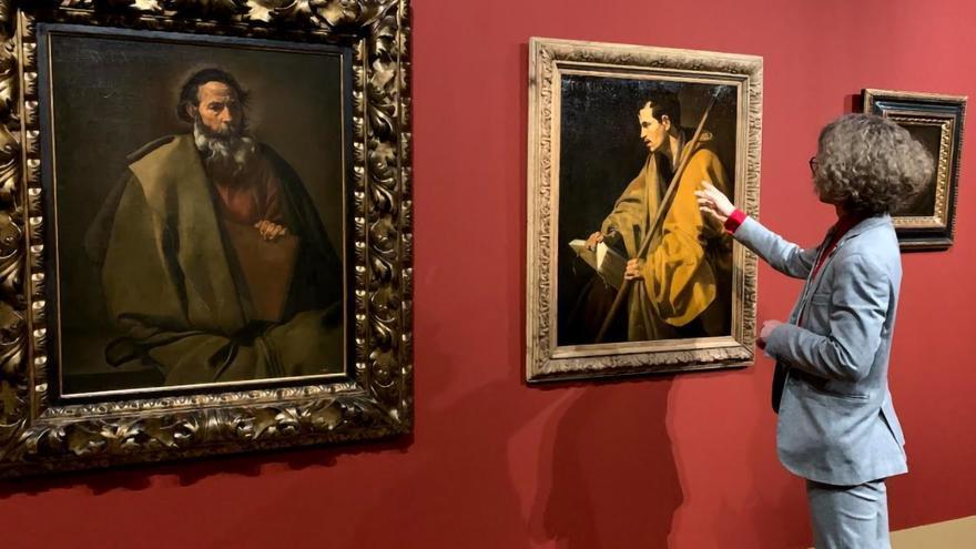 Las huellas del joven Velázquez están en un 'Santo Tomás' francés