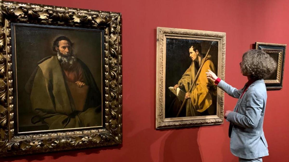 Exposición 'En el polvo de Sevilla, siguiendo el rastro del Santo Tomás de Velázquez'