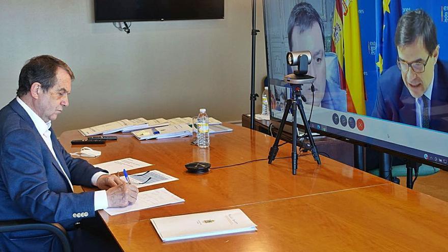 Teleconferencia con secretarios de Estado de la UE sobre política local
