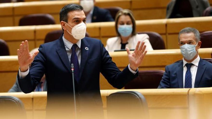 """Sánchez, sobre la coalición con Podemos: """"Nos unen más cosas de las que nos separan"""""""