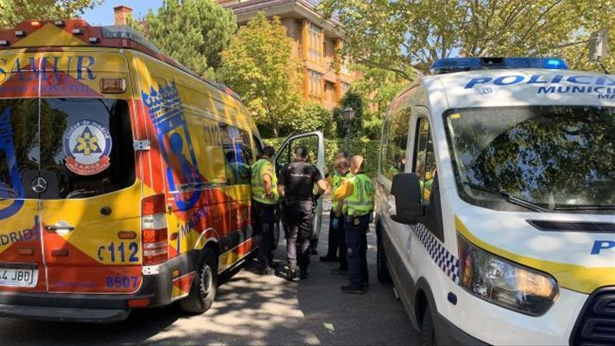 Detenido el chófer del autobús que atropelló mortalmente a un hombre en Madrid