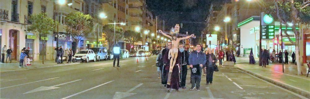 Procesión de la Flagelación y le cristo de la palma.