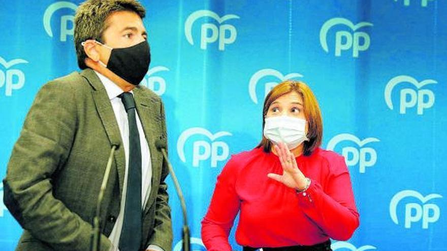 """Bonig pide tranquilidad a los """"satélites de Génova"""" y asegura no saber """"nada"""" del congreso del PPCV"""