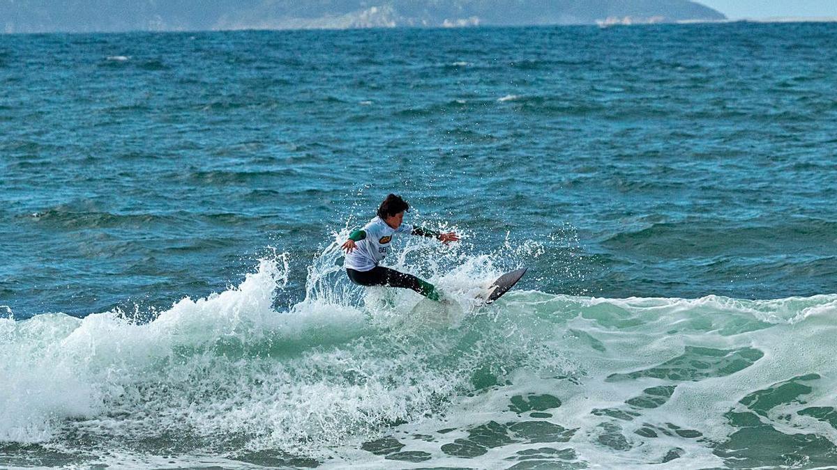 Primeira proba do Campionato Galego de Surf e Bodyboard celebrada en Patos.   | // ÓSCAR DIÉGUEZ.