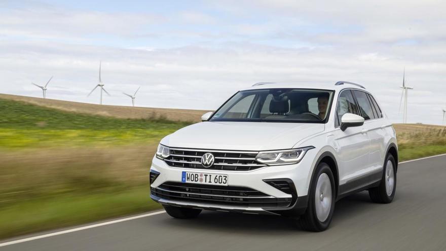Volkswagen Tiguan eHybrid con motor híbrido enchufable, desde 43.860 euros