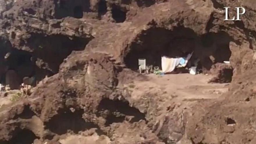 Las Cuevas de los Canarios se quedan sin okupas